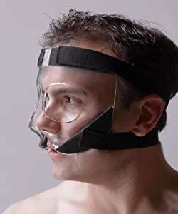 Amazon.com : Sports Knight™ - Nose Guard/Face Shield with