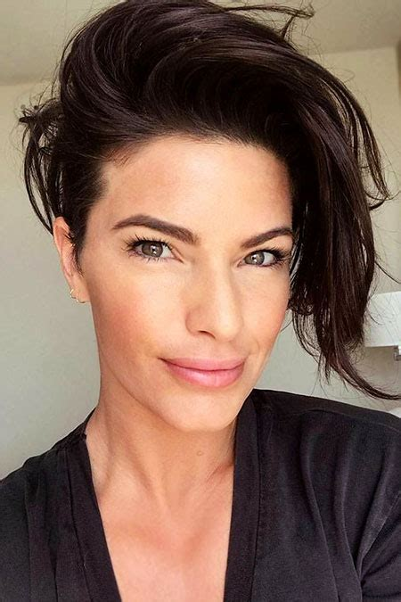 short edgy hairstyles  thick hair short hairstyles