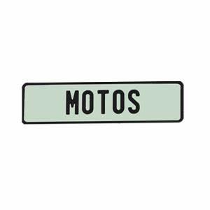 Modele Voiture Plaque : plaque d 39 immatriculation blanche italienne moto longue emboutie ~ Medecine-chirurgie-esthetiques.com Avis de Voitures