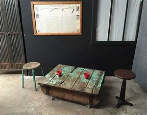 Table Basse Palette Vintage Table Basse Palette Top Des