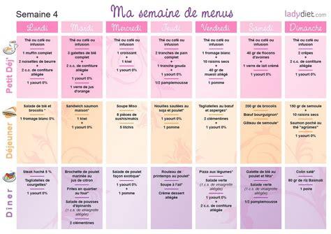 livre cuisine pdf menus pour mincir sur une semaine ou pour un mois de regime