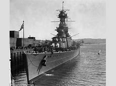 Hunt for HMS Hood's bell to provide memorial to ship's