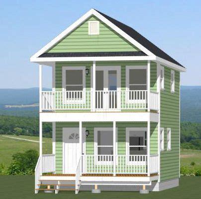 16x20 House  #16x20h2  569 Sq Ft  Excellent Floor