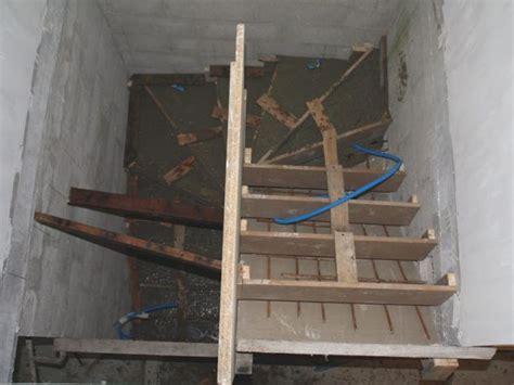 construction d un escalier b 233 ton