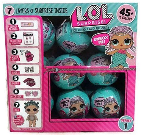 set   lol surprise lil outrageous littles series  wave