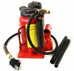 Low Profile Air Hydraulic Bottle Jack 20 Ton Jacks