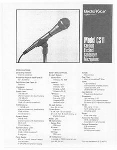 Cs11 Manuals