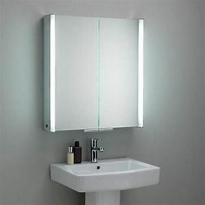Badezimmer Spiegelschrank Led : 44 modelle spiegelschrank f rs bad mit beleuchtung ~ Indierocktalk.com Haus und Dekorationen