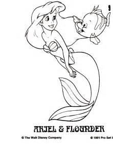 Disney Little Mermaid Drawings