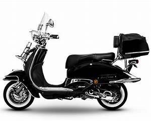 Motorroller 50 Ccm : easycruiser schwarz 50 ccm ~ Kayakingforconservation.com Haus und Dekorationen