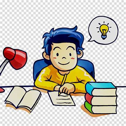 Clipart Study Student Cartoon Clip Place Test