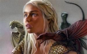 Daenerys Targaryen - Game of Thrones Wallpaper #10237 ...