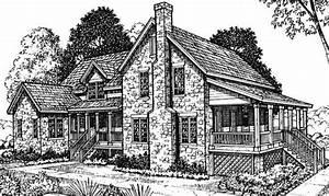 Smart Placement Stone Farmhouse Plans Ideas
