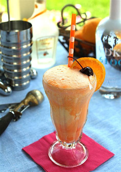 creamsicle drink orange creamsicle cocktail cocktails drinkwire