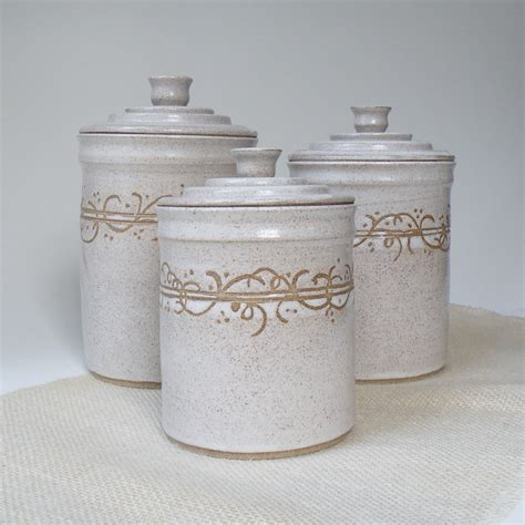 white kitchen canisters white kitchen canisters set of 3 made to order storage and