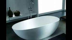 Freistehende Badewanne Mineralguss : die exklusive freistehende badewanne aus mineralguss von b dermax youtube ~ Sanjose-hotels-ca.com Haus und Dekorationen