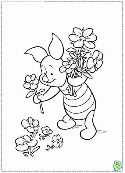 Coloring Piglet Dinokids Disney Close