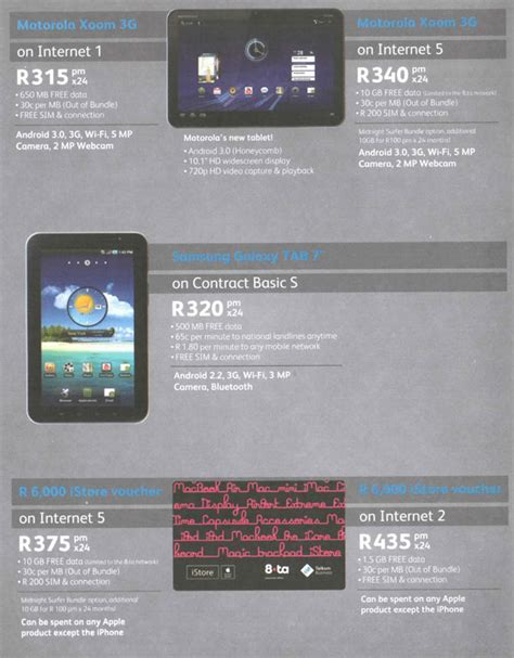 telkom business mobile tablet pc deals