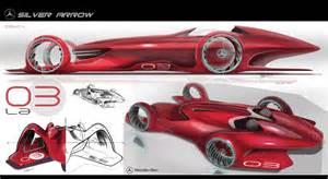 mercedes design mercedes silver arrow concept car design
