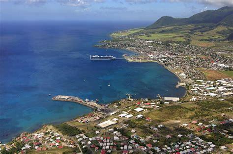 Basseterre Bay In Basseterre, St Kitts Island, Saint