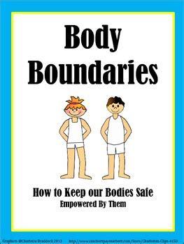 body boundaries  empowered   teachers pay teachers