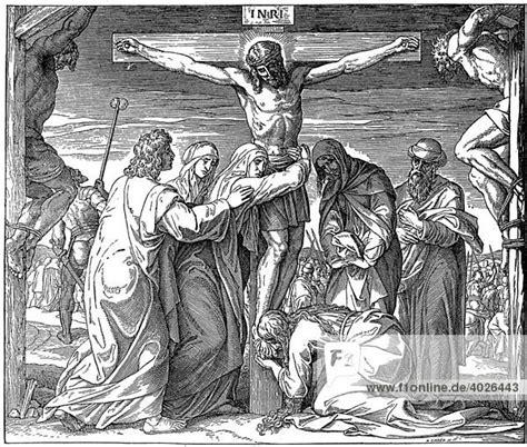 jesus stirbt  kreuz johannes katholische