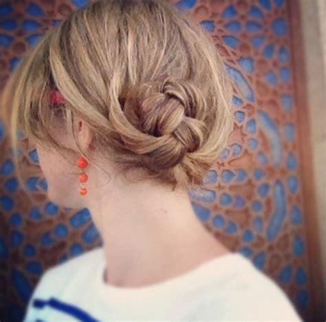 hair bun styles for medium hair 10 updo hairstyles for hair popular haircuts