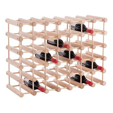 Jk Adams Hardwood 40bottle Wine Rack  The Container Store