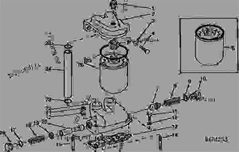 Deere 210c Wiring Diagram by Engine Filter 165527 Tractor Deere 4755