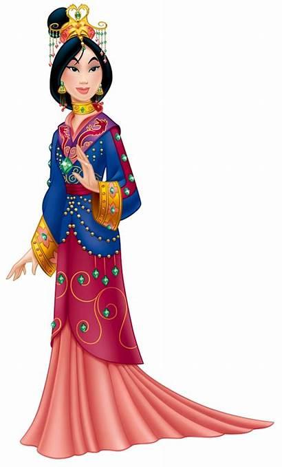 Mulan Princess Disney Cartoon Clipart Fa Princesses