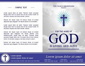 templates for church bulletins - free brochure templates pageprodigy