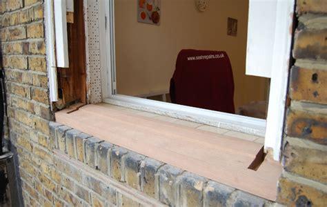 Redwood Window Sill by Sash Window Sash Window Repair Restoration
