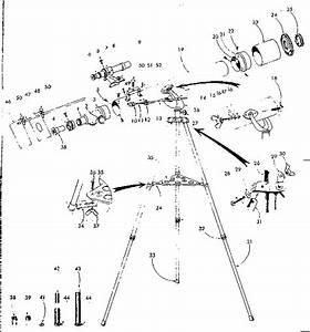 Sears Model 24101 Telescope Genuine Parts