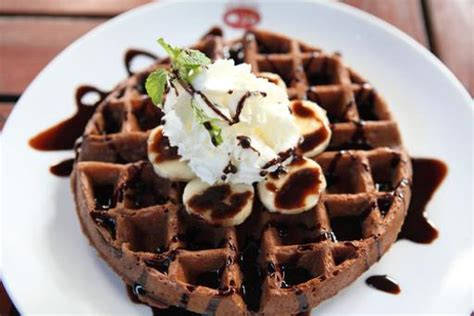tri  hospitality management chocolate waffle recipe