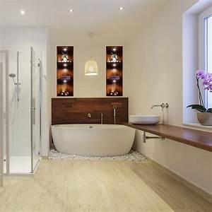 Ambiance Salle De Bain : sticker effet 3d salle de bain ambiance spa stickers art ~ Melissatoandfro.com Idées de Décoration