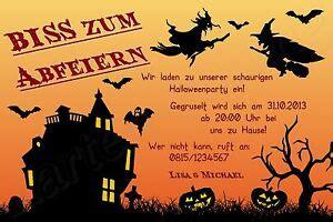 einladung halloween geburtstag einladungskarte karte
