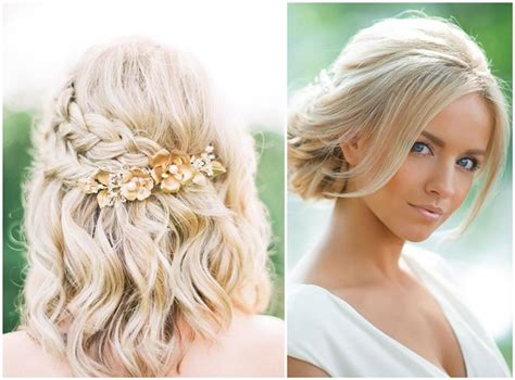 stylish wedding hairstyles  short hair
