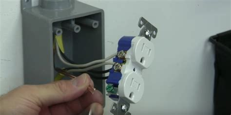 How Install Electrical Outlet From Sub Panel