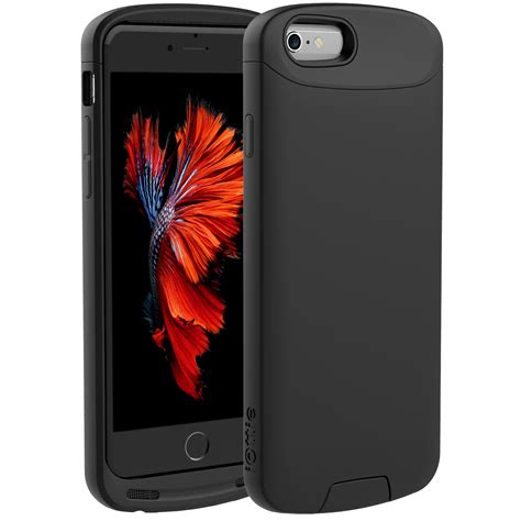 Iottie Ion Qi Wireless Iphone 66s Charging Case Mfi Black