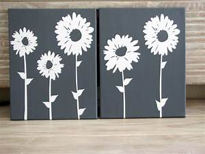 Canvas wall art home decor ideas