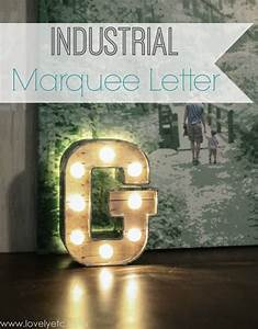 diy industrial marquee letter lovely etc With industrial marquee letters