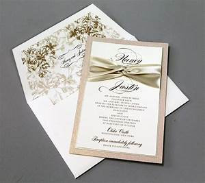 Ribbon for wedding invitation wedding invitations with for Wedding invitation ribbon tying