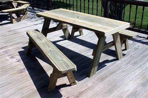 free picnic table plans pdf picnic table separate bench plans plans free