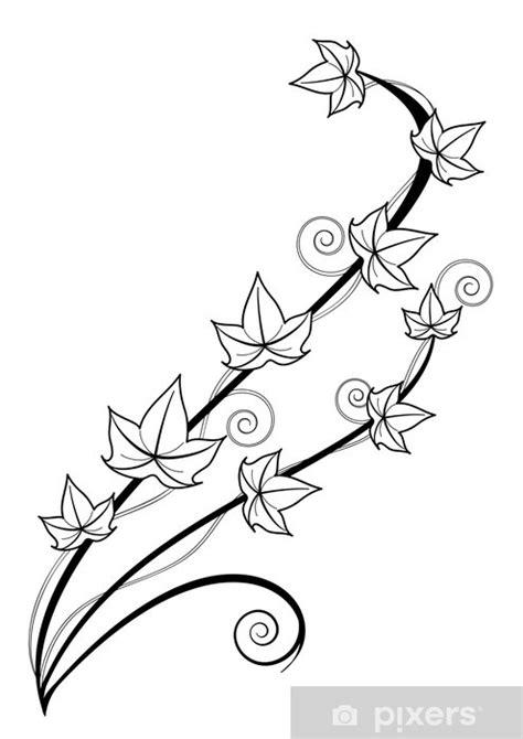 Papier peint Lierre tatouage • Pixers® - Nous vivons pour