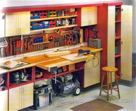 car garage workshop woodarchivist