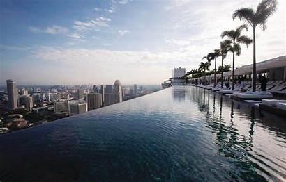 Marina Bay Sands Hotel Pool Singapore Roof