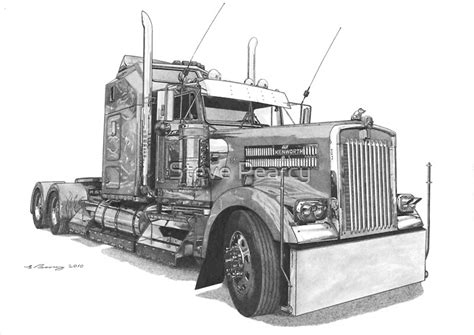 kenworth   steve pearcy redbubble