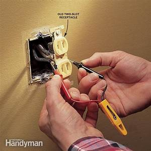 Replacing Electrical Outlet