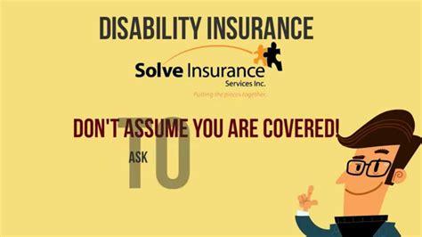 Disability Insurance Explainer Video (disability Awareness