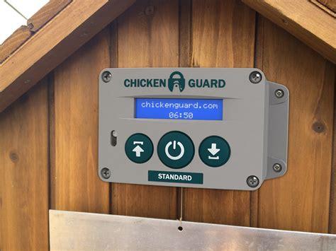 automatic door opener chickenguard automatic door opener